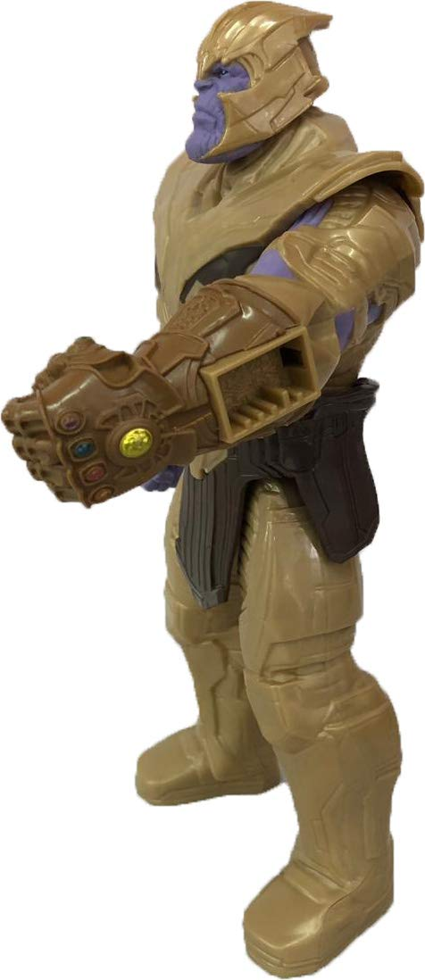 Boneco Thanos 30cm Vingadores 4 - Ultimato Com Entrada para Dispositivo Power FX - E4018 Hasbro