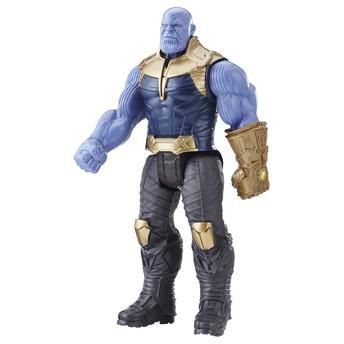 Boneco Thanos Guerra Infinita  30 CM Com entrada para Dispositivo Power FX   - Hasbro