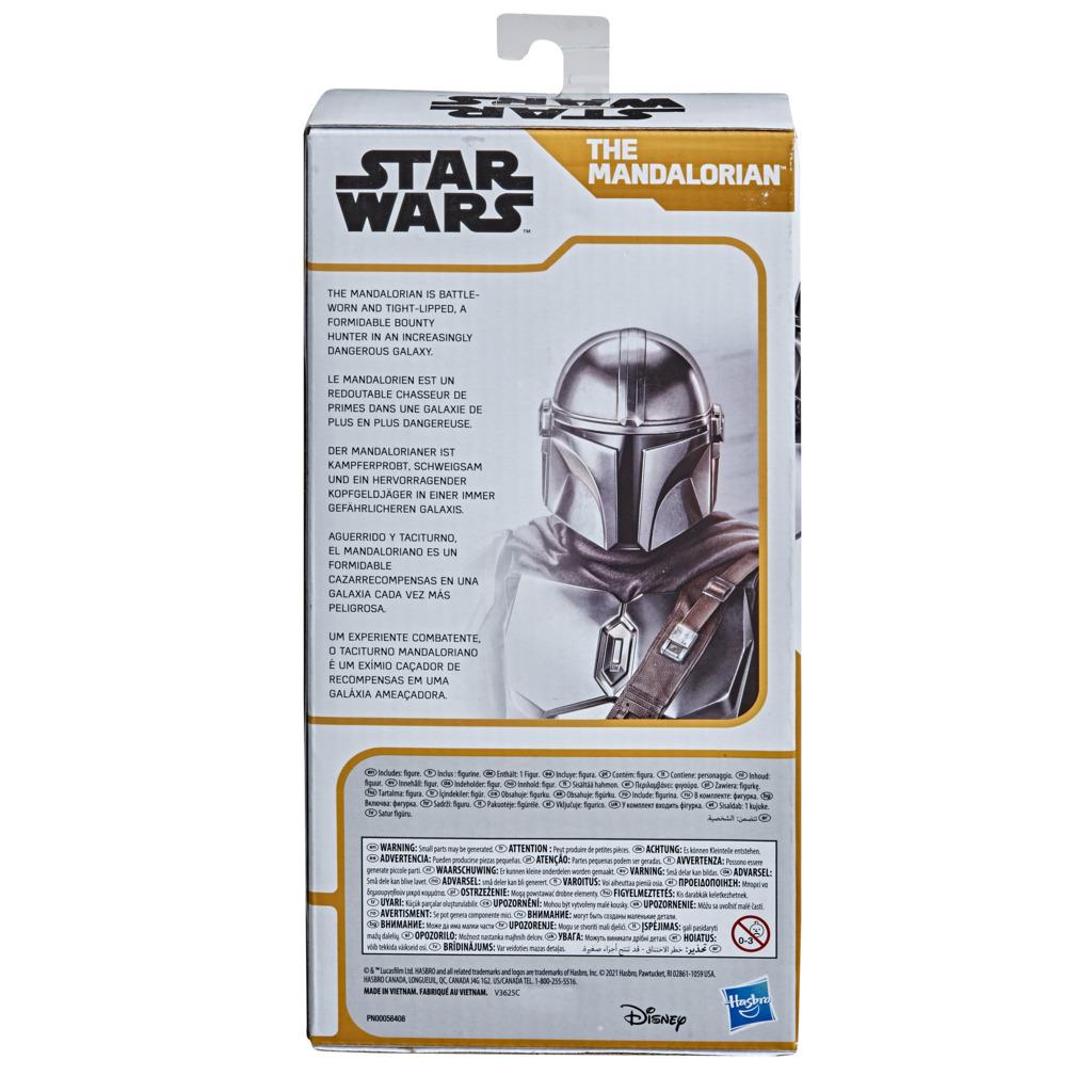 Boneco The Mandalorian Star Wars 24CM Olympus F1564 - Hasbro