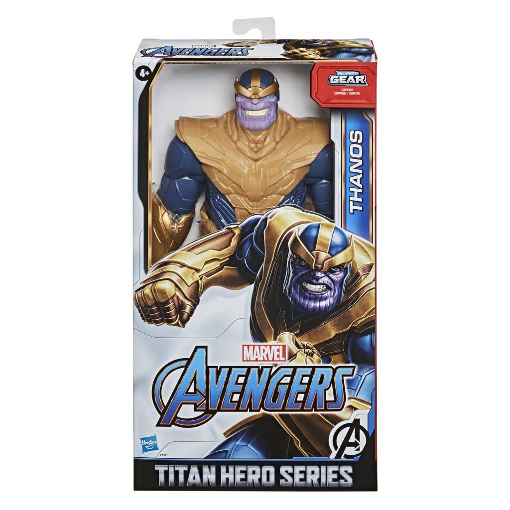 Boneco Thanos Deluxe Titan Hero Blast Gear E7381 - Hasbro