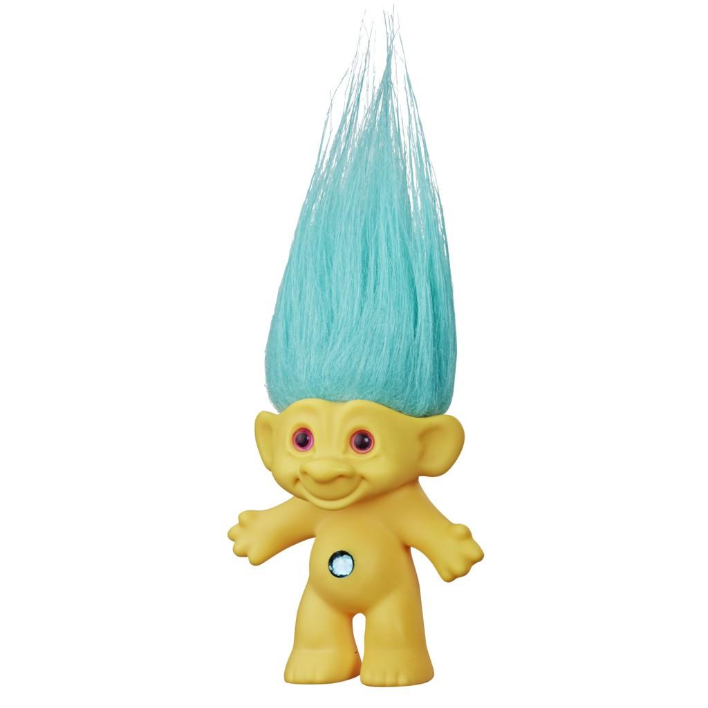 Boneco Trolls Clássico Amarelo Good Luck E8258 - Hasbro