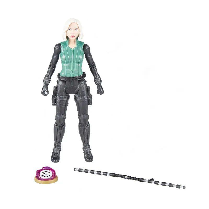 Boneco Viúva Negra 15 cm com Joia do Infinito E1411 - Hasbro