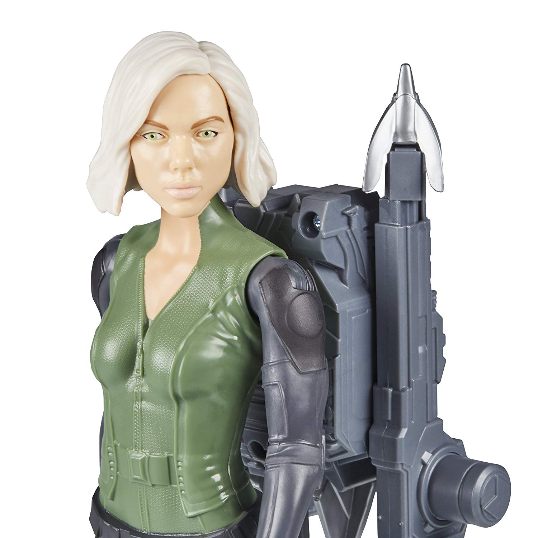 Boneco Víuva Negra Avengers Guerra Infinita Com Dispositivo Power FX E0614 - Hasbro
