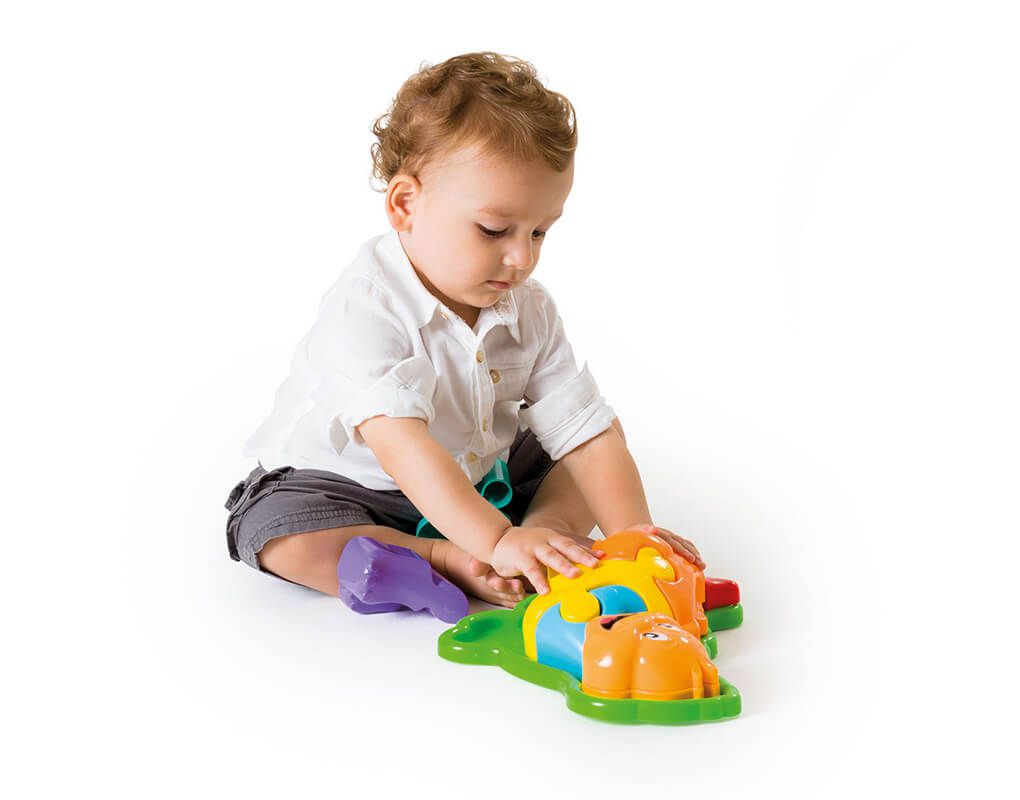 Brinquedo Educativo Puzzle Infantil 3D Animal Dino - Calesita