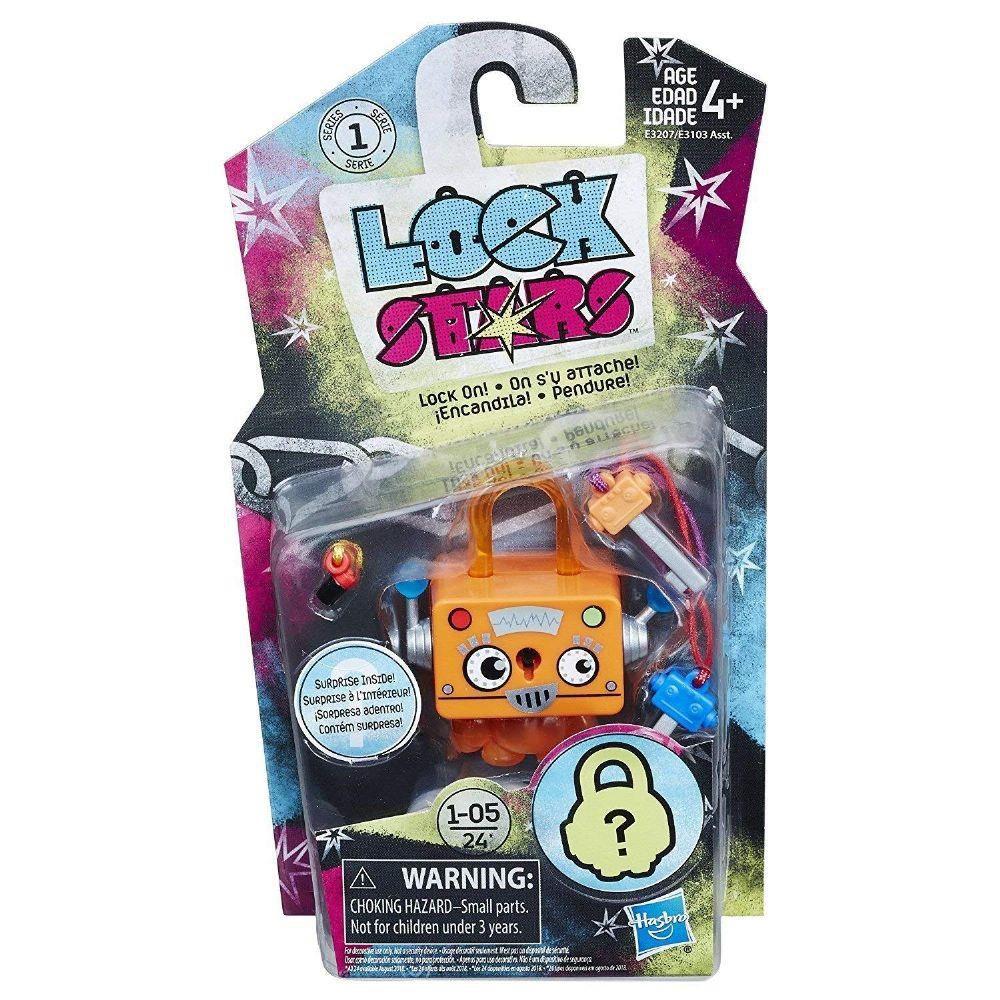Cadeado Lock Stars Série 1 Sortidos E3207 - Hasbro