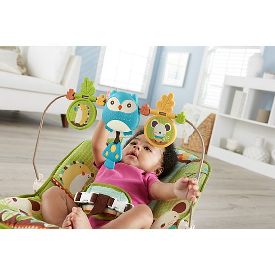 Cadeira de Descanso Fisher Price X7037 - Amigos do Bosque