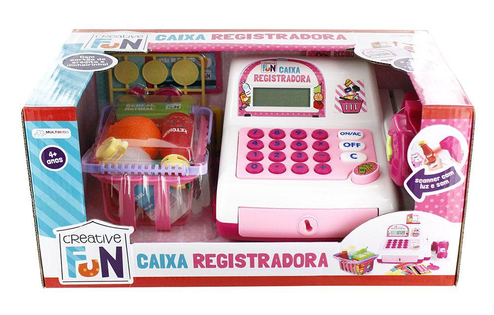 Caixa Registradora Creative Fun Com Calculadora e Acessorios  BR387 - Multikids
