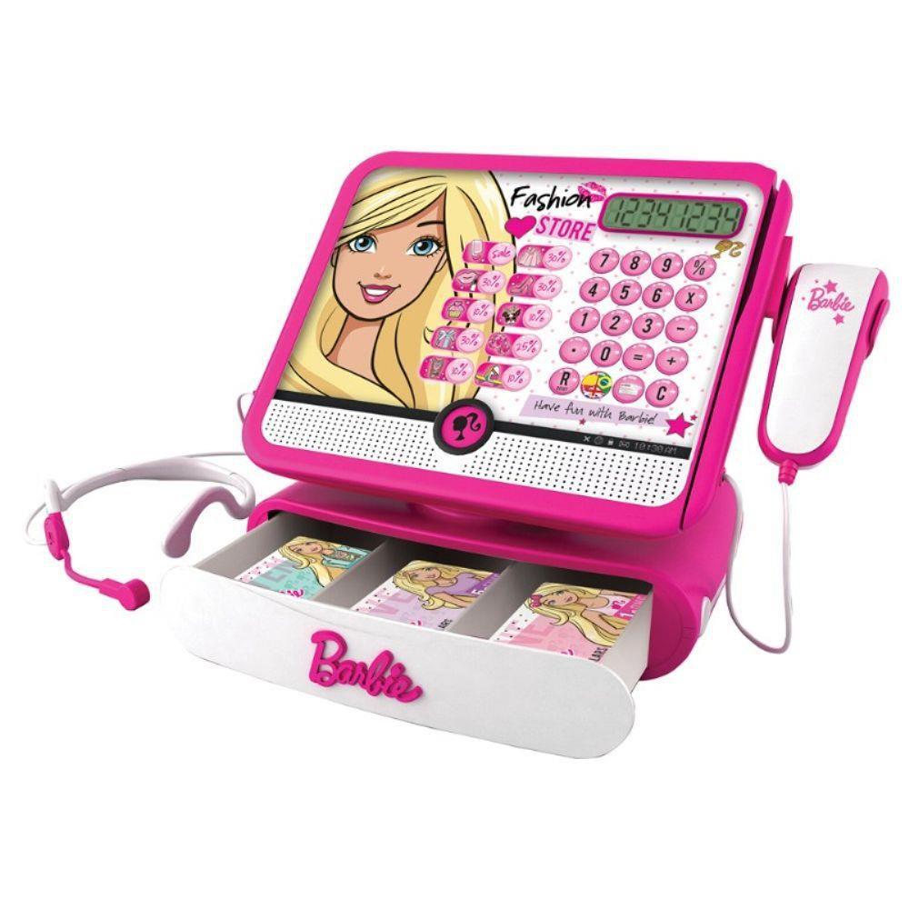 Caixa Registradora da Barbie F00247 - FUN