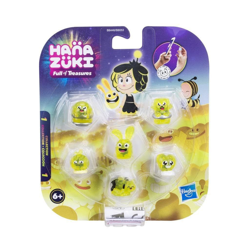 Hanazuki 6 tesouros do Humor Amarelo Feliz  - Hasbro