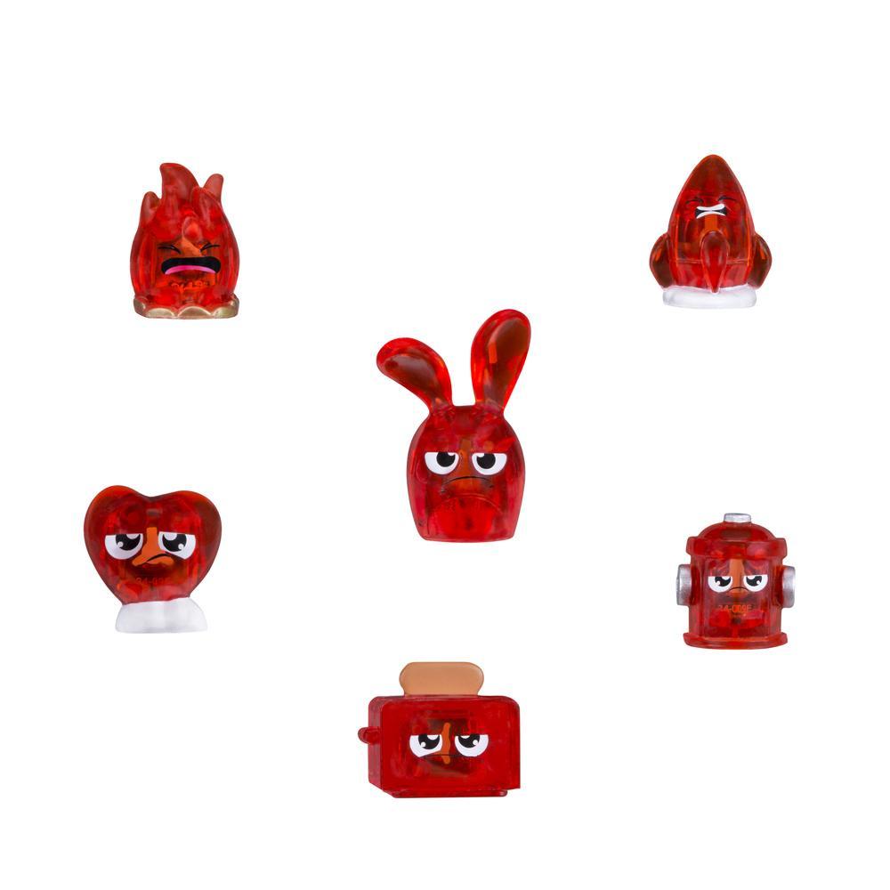 Hanazuki 6 tesouros do Humor Vermelho Chateado - Hasbro
