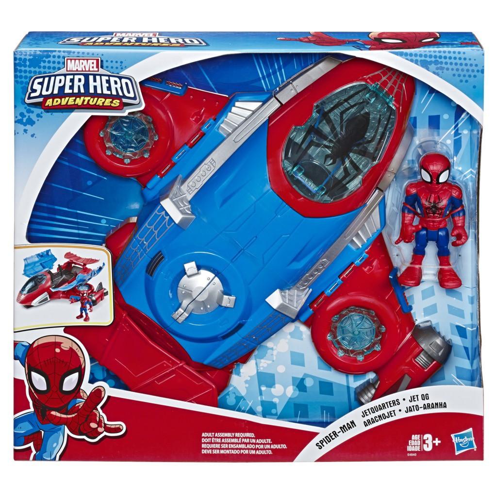 Conjunto Playskool Heroes Jato do Homem Aranha E4840 - Hasbro