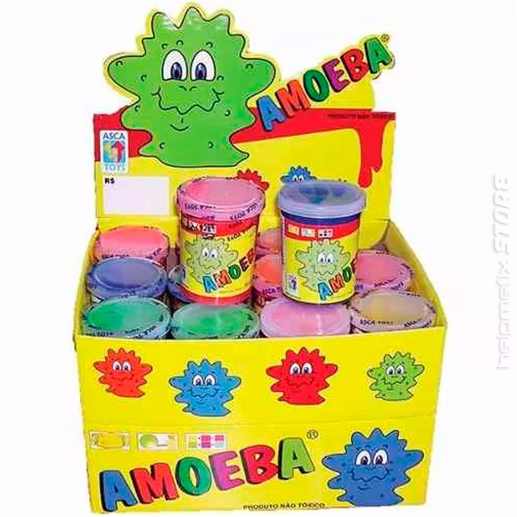 Amoeba Kit com 24 Potes de 110 Gramas Cada Pote