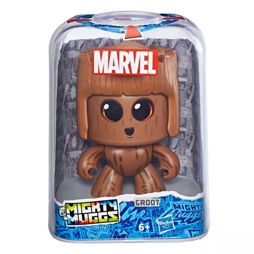 Boneco Mighty Muggs 15 Cm Groot - Hasbro