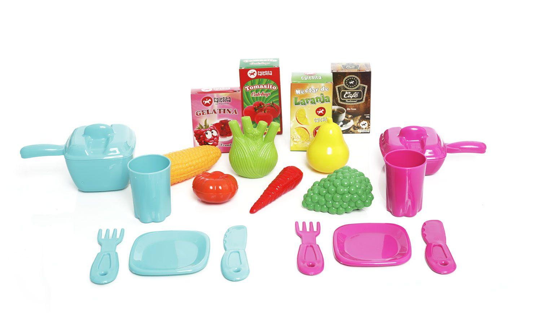 Cozinha Mobility Chef  Portatil com Acessorios - Cozinha Infantil Calesita