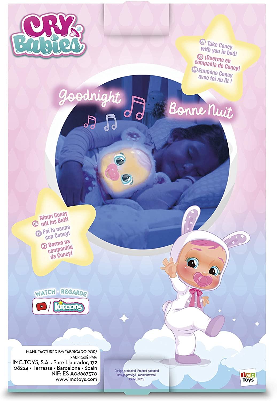 Crybabies Coney Good Night com Melodias e luz BR1228 - Multikids