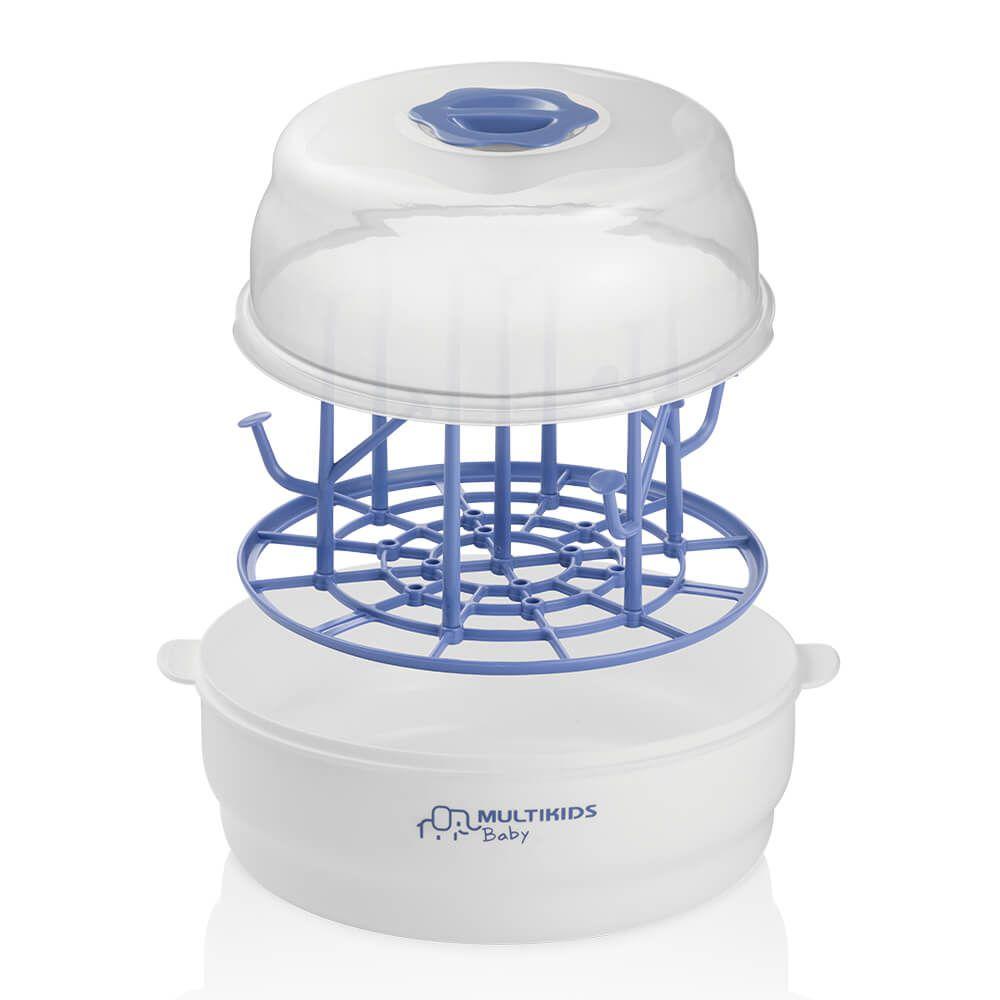 Esterilizador de Mamadeiras a Vapor Para Micro-Ondas Clean E Dry BB170 - Multikids