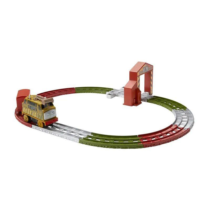 Thomas e Amigos Ferrovia Motorizada Diesel 10 - Mattel