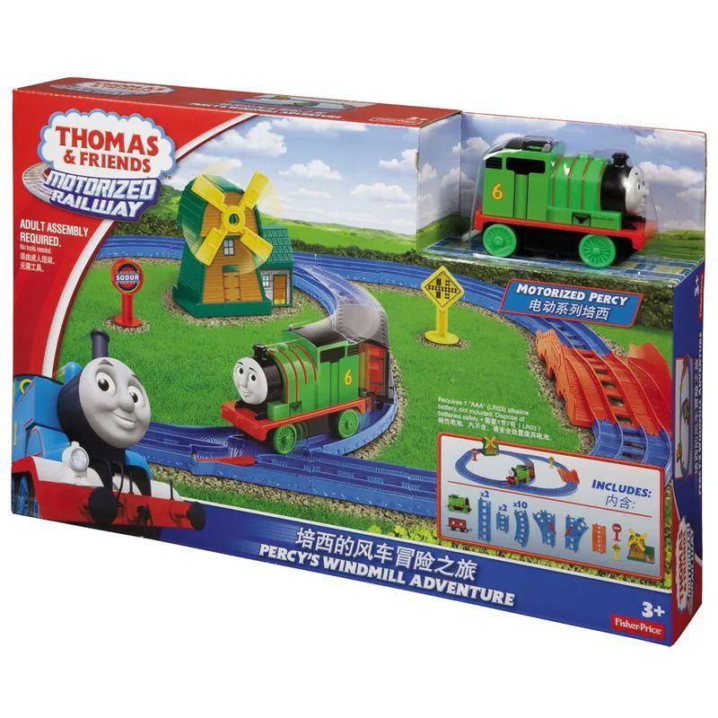 Thomas e Amigos Ferrovia Motorizada Loop Duplo - Mattel
