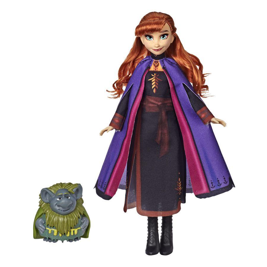 Frozen 2 - Boneca Anna e Troll Vovô Pabbie E8763 - Hasbro E7851