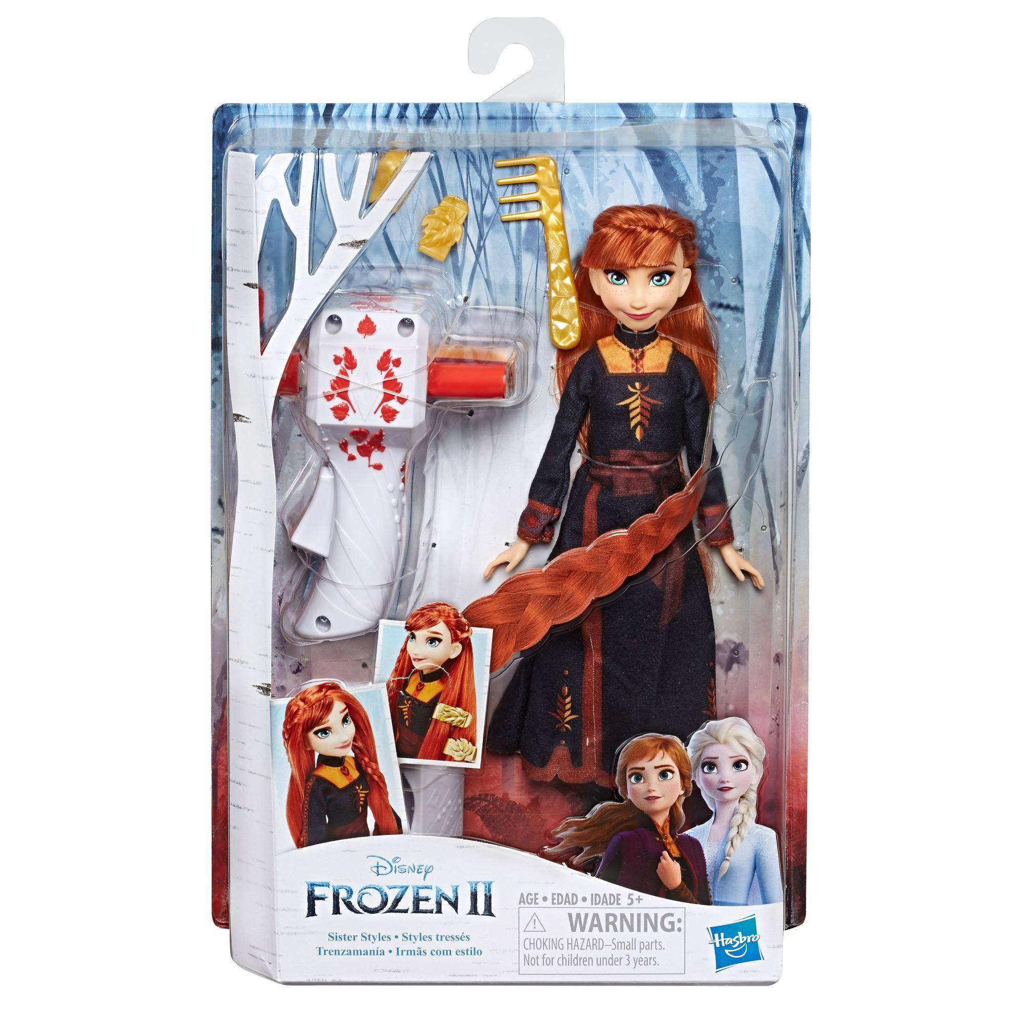 Frozen 2 - Boneca Anna Lindas Tranças E7003 - Hasbro E6950