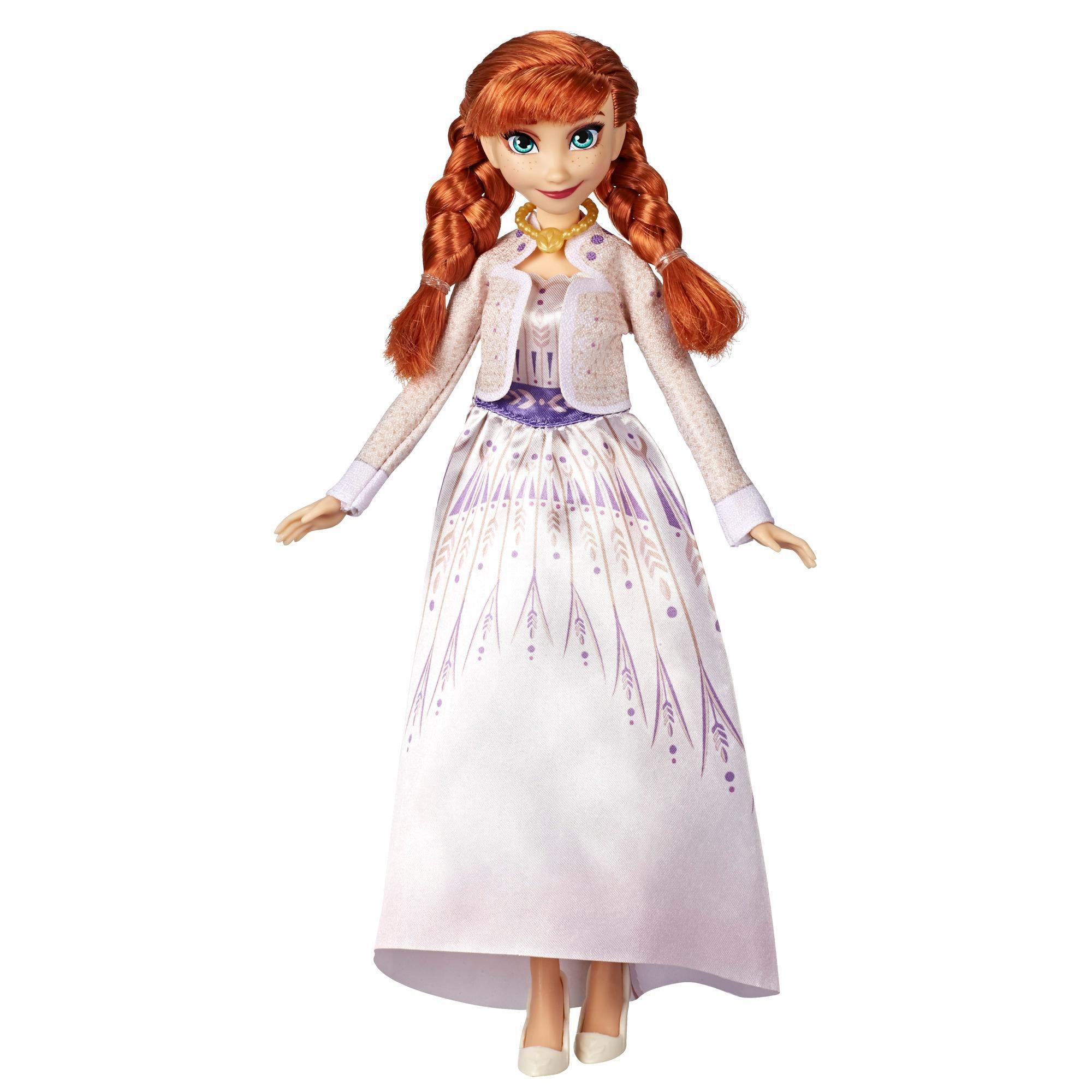 Frozen 2 - Boneca Anna Trajes de Arendelle E6908 - Hasbro E5500