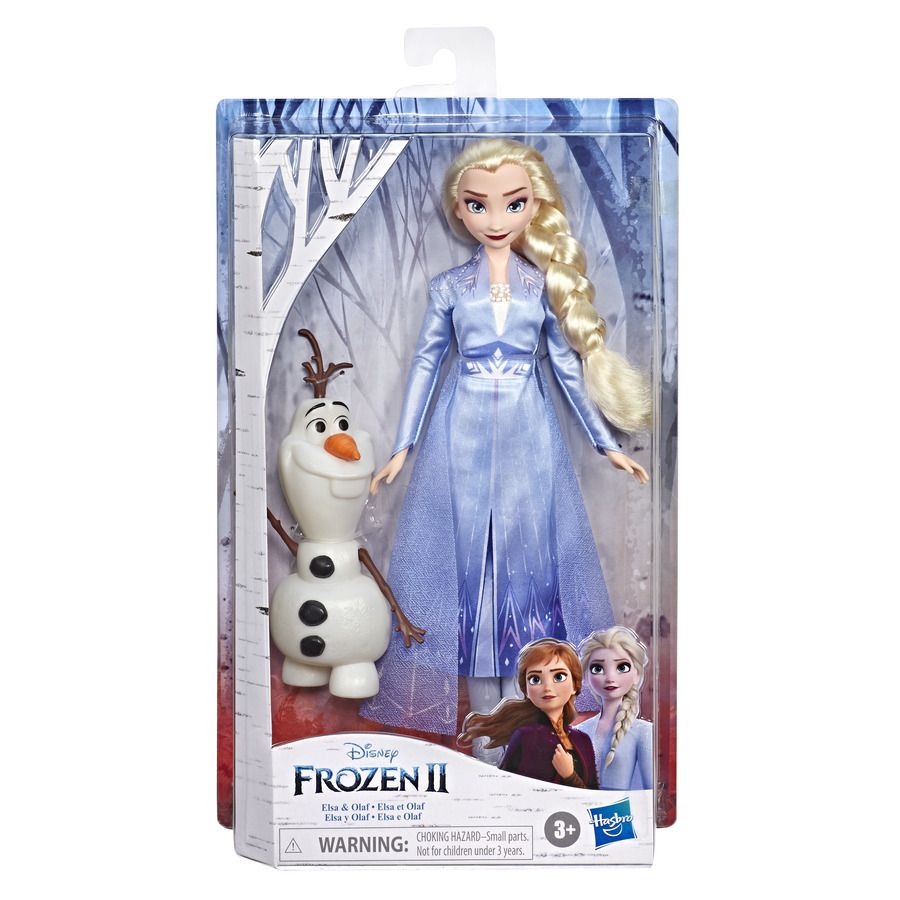 Frozen 2 - Boneca Elsa e Olaf  E8762 - Hasbro E8751