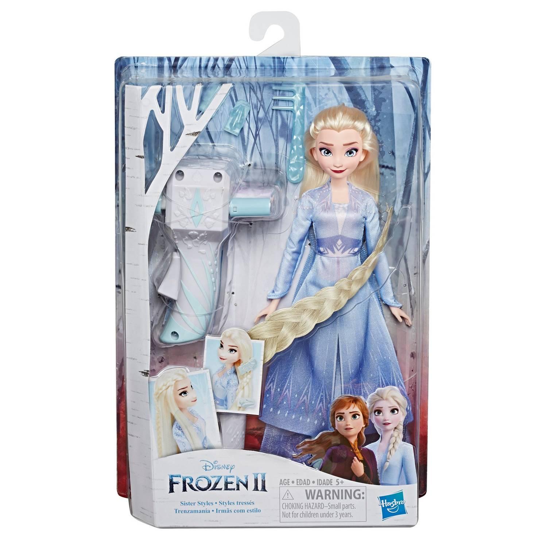 Frozen 2 - Boneca Elsa Lindas Tranças E7002 - Hasbro E6950