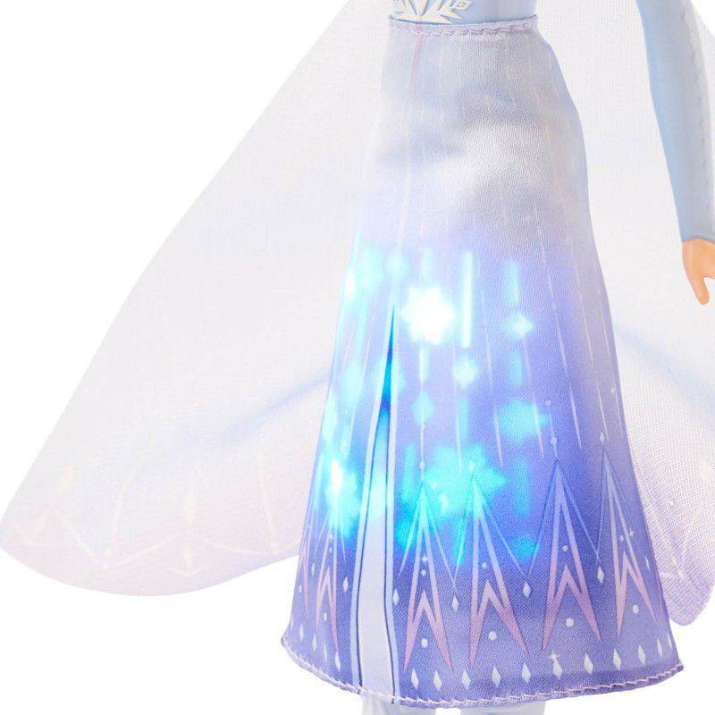 Frozen 2 - Boneca Elsa Vestido Magico que Brilha E7000 - Hasbro E6952