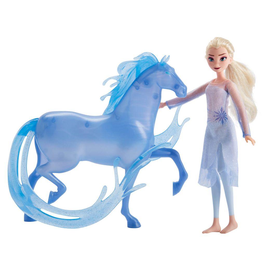 Frozen 2 - Nova Boneca Elsa e Cavalo Nokk E5516 - Hasbro