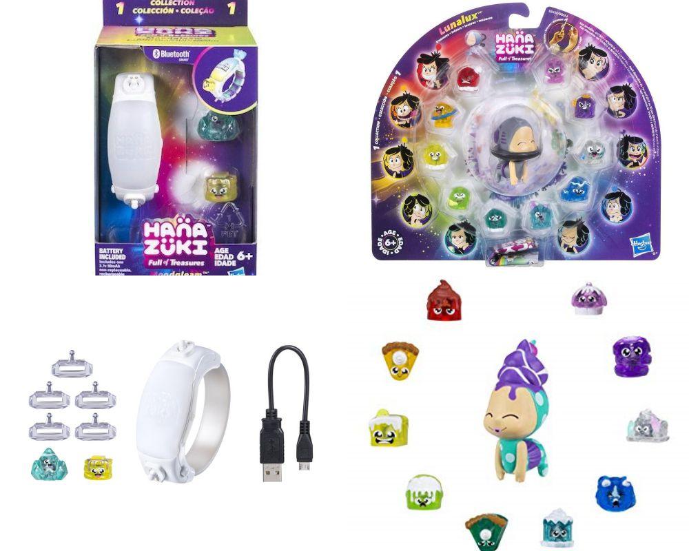 Hanazuki Pulseira do Humor + Pack Lunalux Colection Sortido - Hasbro