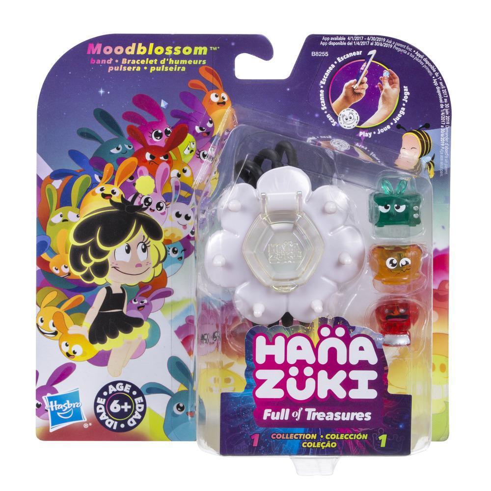 Hanazuki Pulseira Moodblossom + Pack Lunalux Colection Sortido - Hasbro