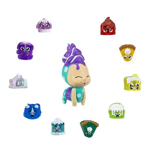 Hanazuki Tesouros de Lunalux Pack Com 2 Temas  - Hasbro