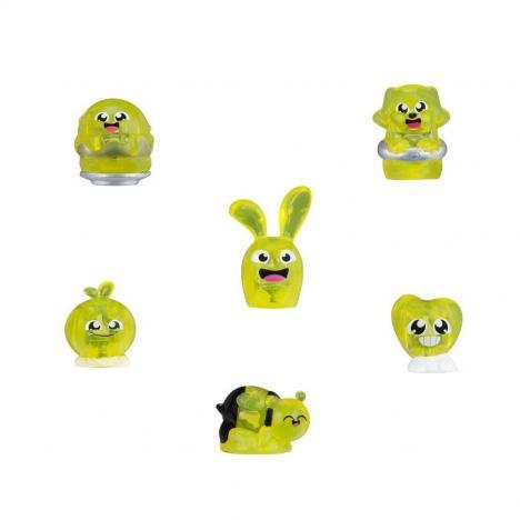 Hanazuki  tesouros do Humor Vermelho Amarelo e Roxo - Hasbro