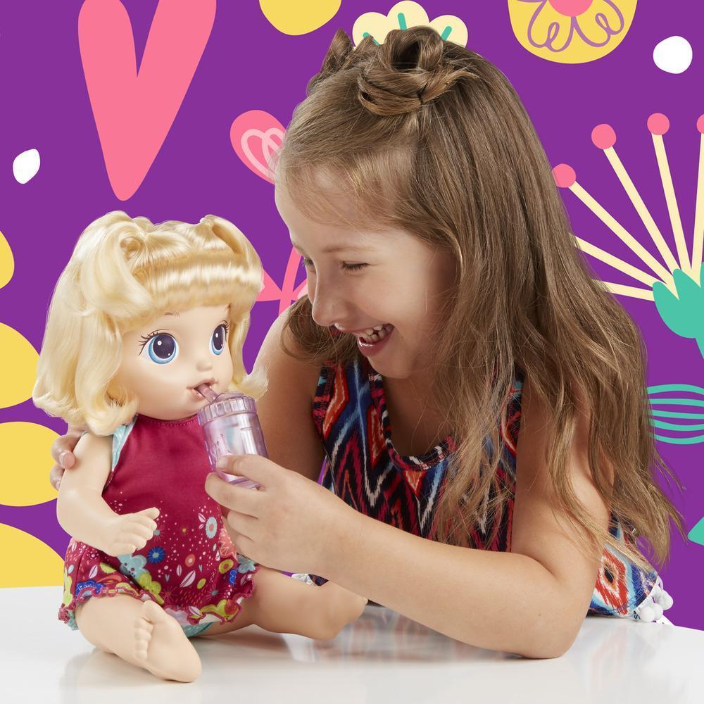 Hasbro E0609 - Baby Alive Boneca Primeiro Penico Loira