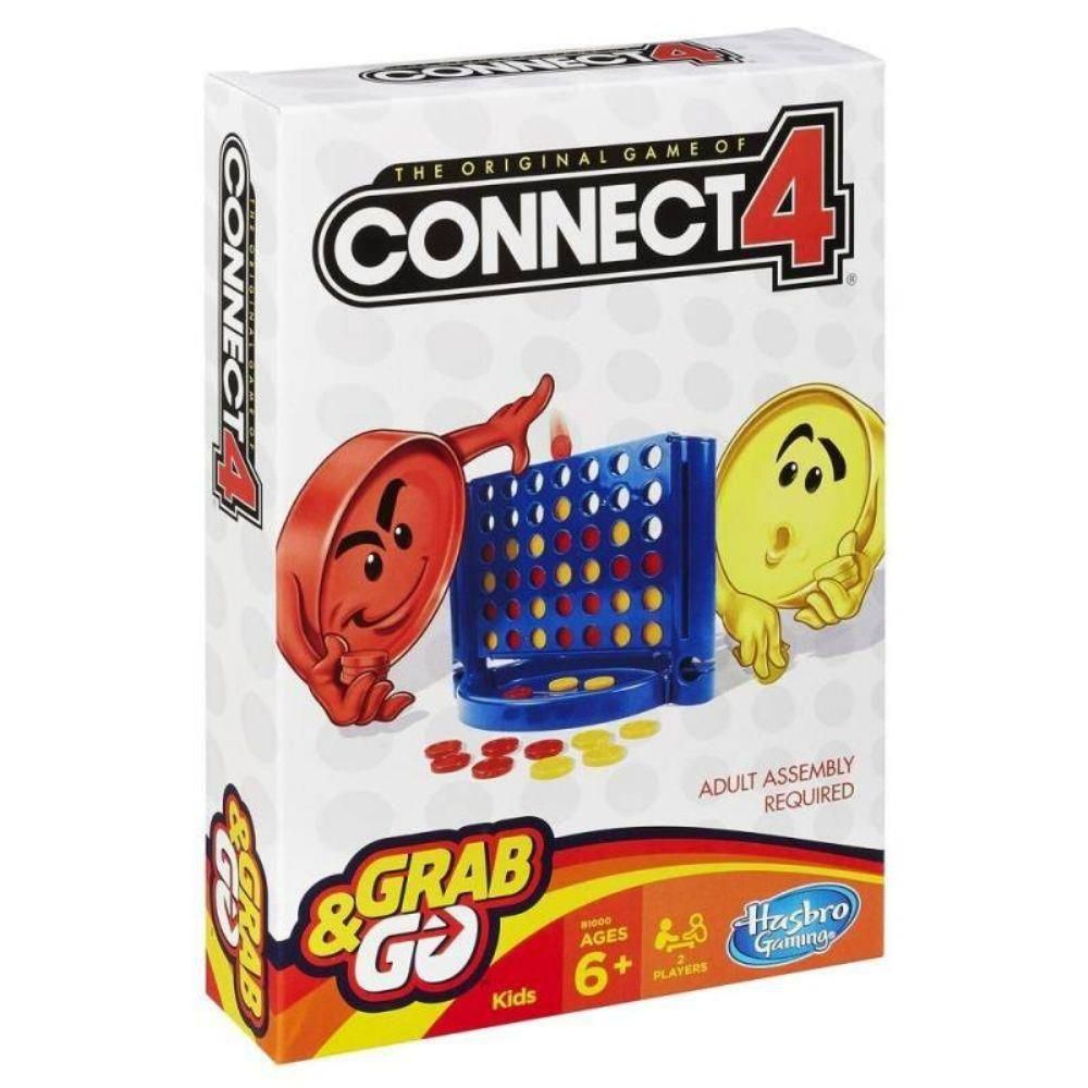 Jogo Connect 4 Grab & Go B1000 - Hasbro