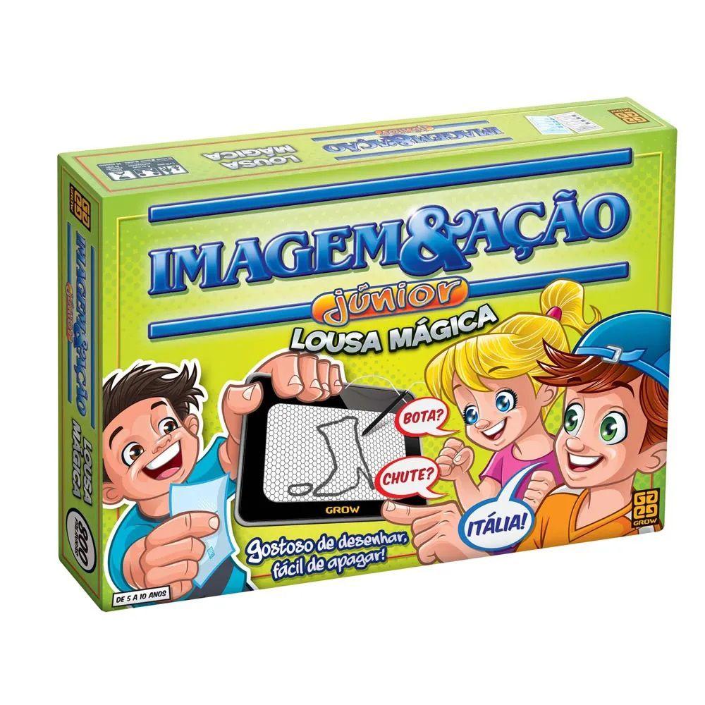 Jogo Imagem e Ação Junior Com Lousa Mágica - Jogos Grow