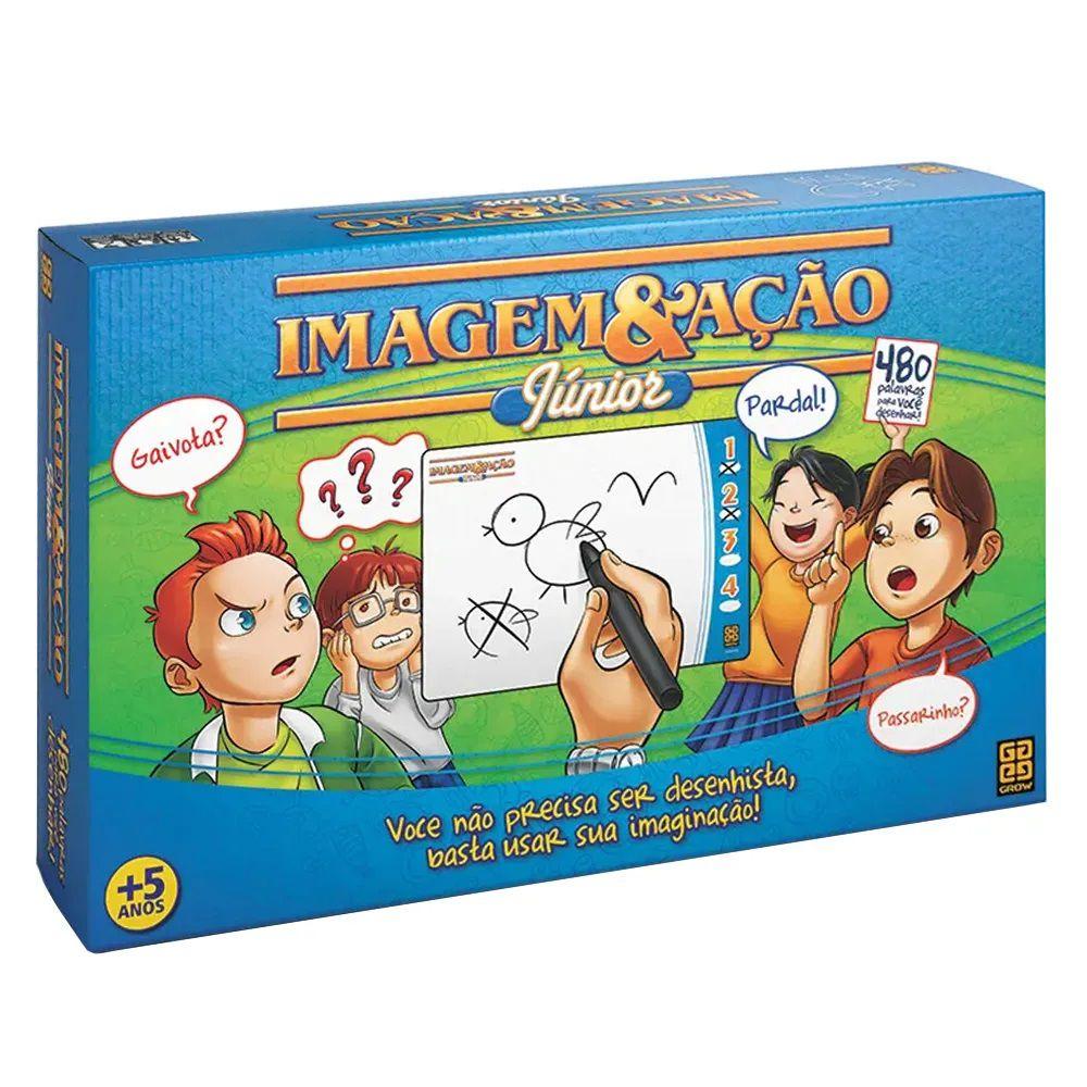Jogo Imagem e Ação Junior - Jogos Grow