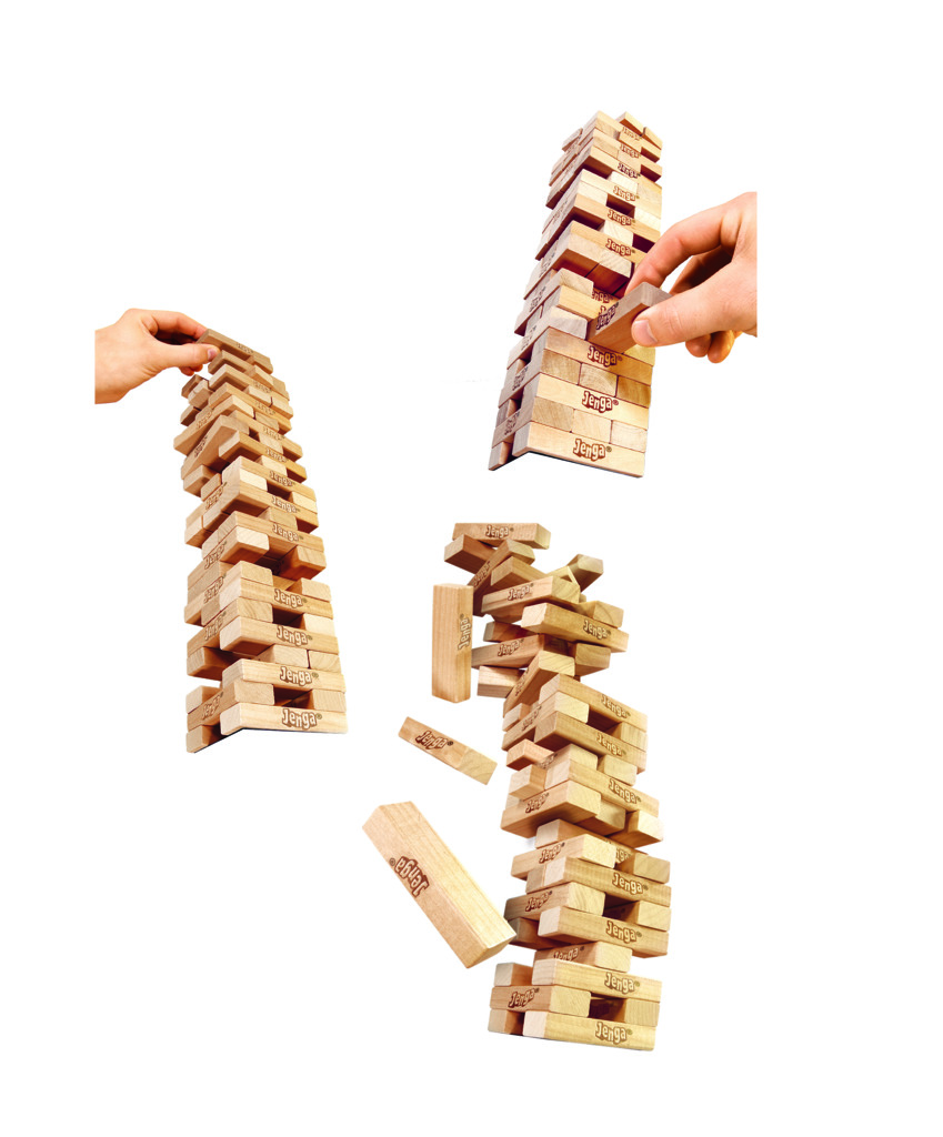 Jogo Jenga com 54 Blocos A2120 - Hasbro