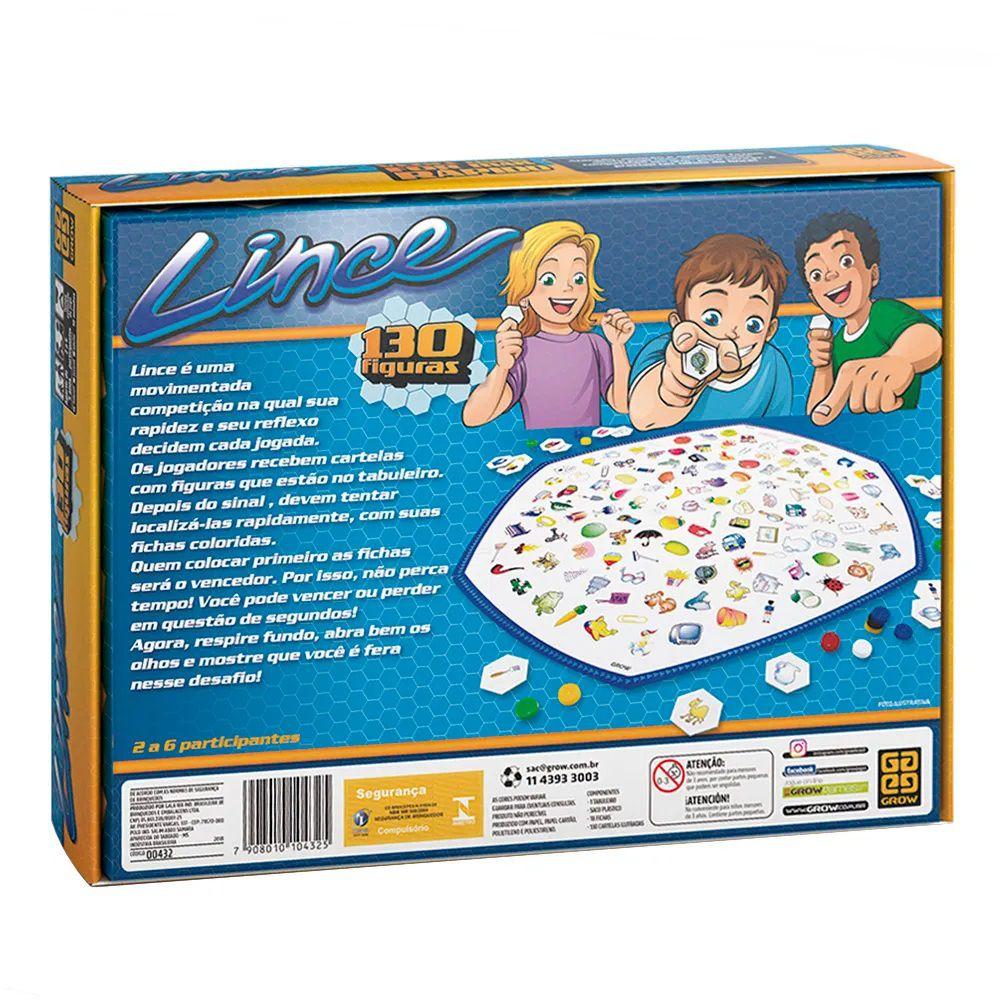 Jogo Lince - Jogos Grow