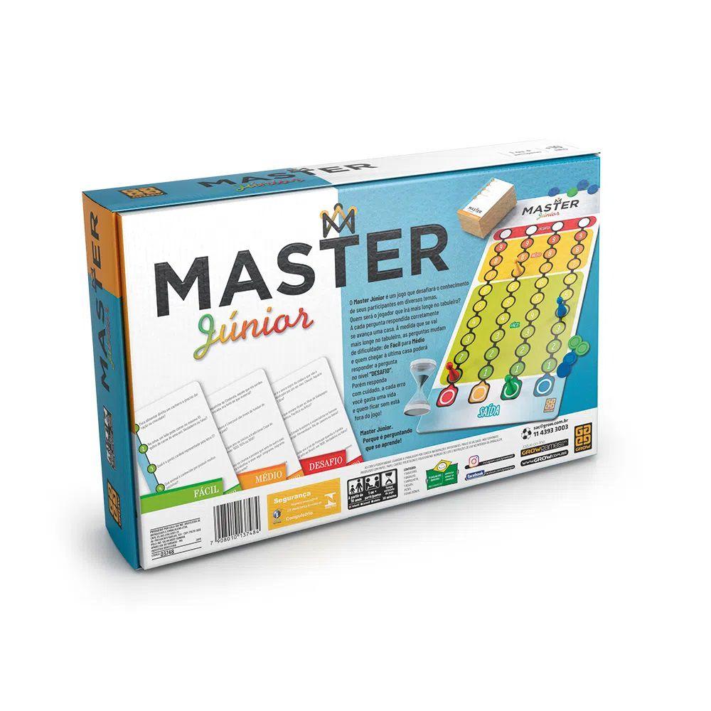 Jogo Master Junior - Jogos Grow