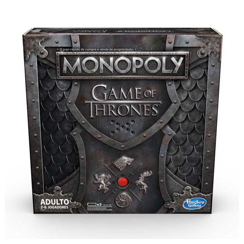 Jogo Monopoly Game Of Thrones Versão Original em Inglês E3278 - Hasbro
