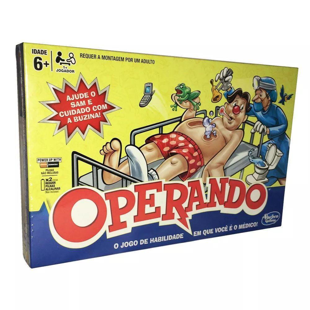 Jogo Operando Clássico B2176 - Hasbro
