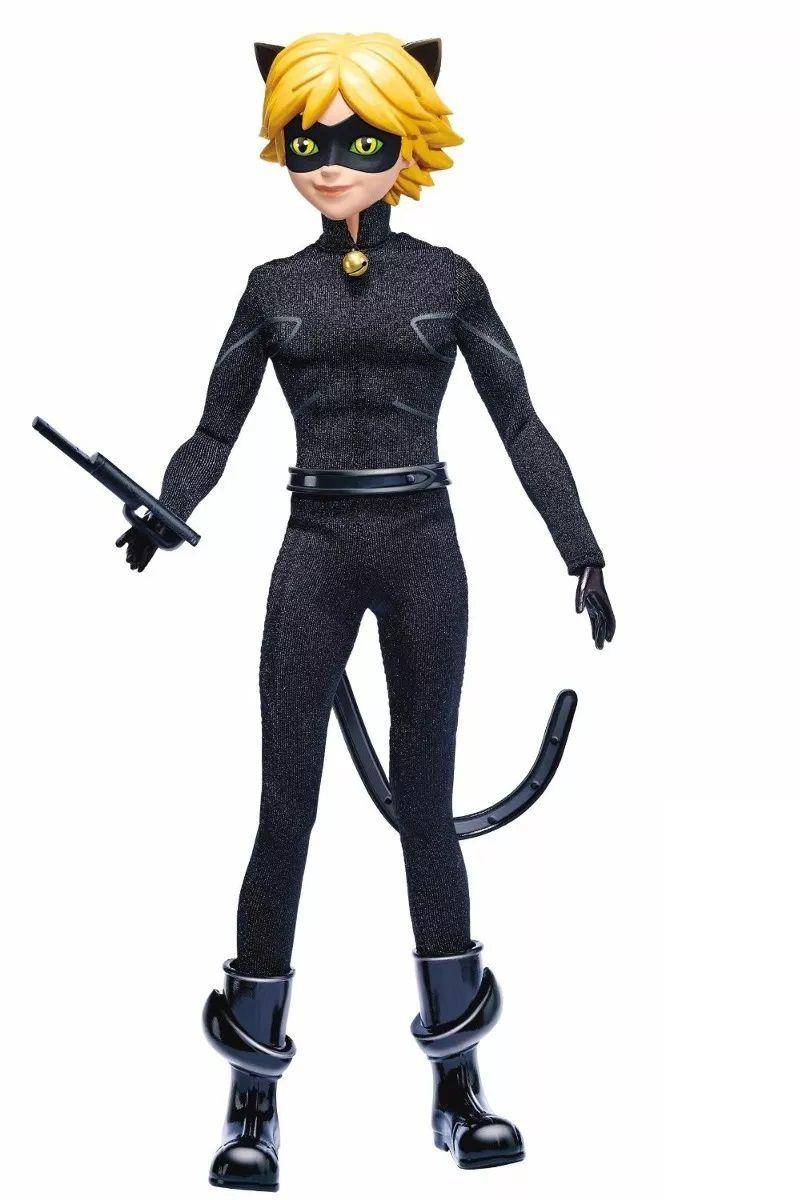 Kit 2 Bonecas Ladybug e Cat Noir 26 cm - Sunny