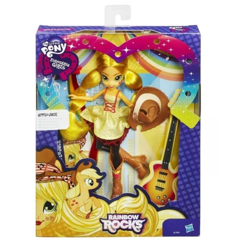 Kit 2 Bonecas My Little Pony Equestria Trixie e Applejack - Hasbro