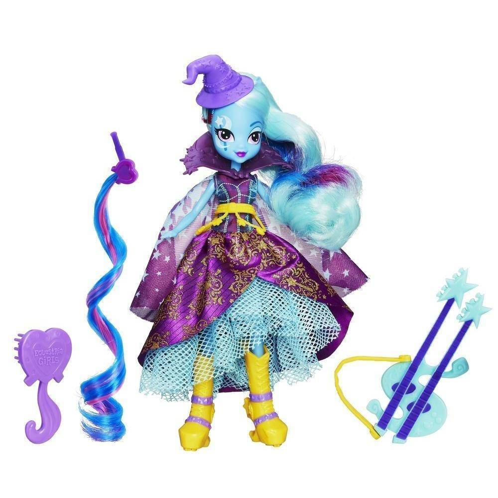 Kit 2 Bonecas My Little Pony Equestria Trixie e Applejack - Hasbro