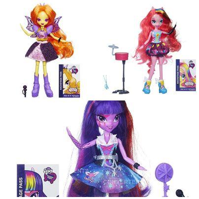 8a0b831e47 Kit 3 Bonecas My Little Pony Rainbow Rocks - Hasbro - Pikoka ...