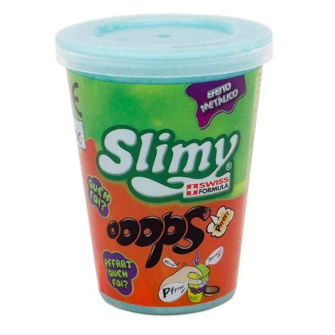 slime Kit 4 Unidades Slimy Efeito Metálico Sortidos - Toyng