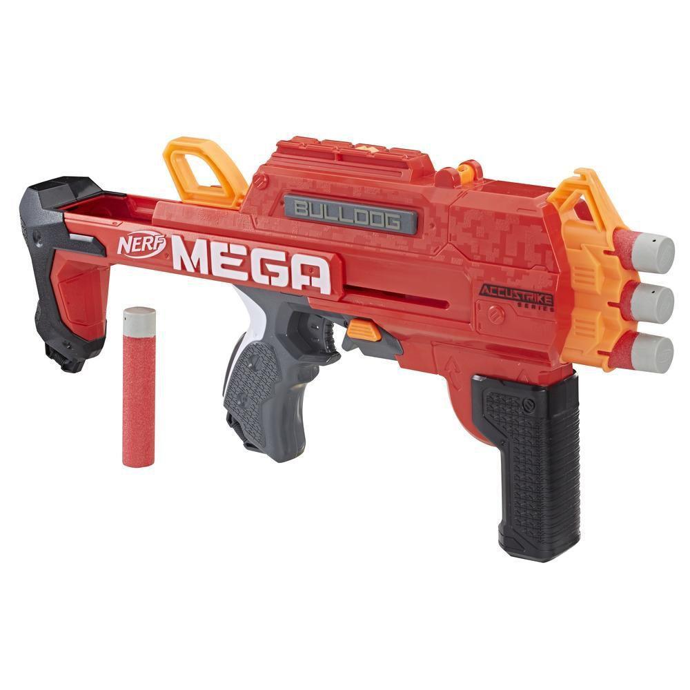 Lançador Nerf Accustrike Mega Bulldog E3057 - Hasbro