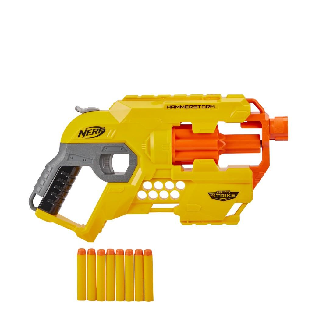 Lançador Nerf Alpha Strike Hammerstorm E8676 - Hasbro
