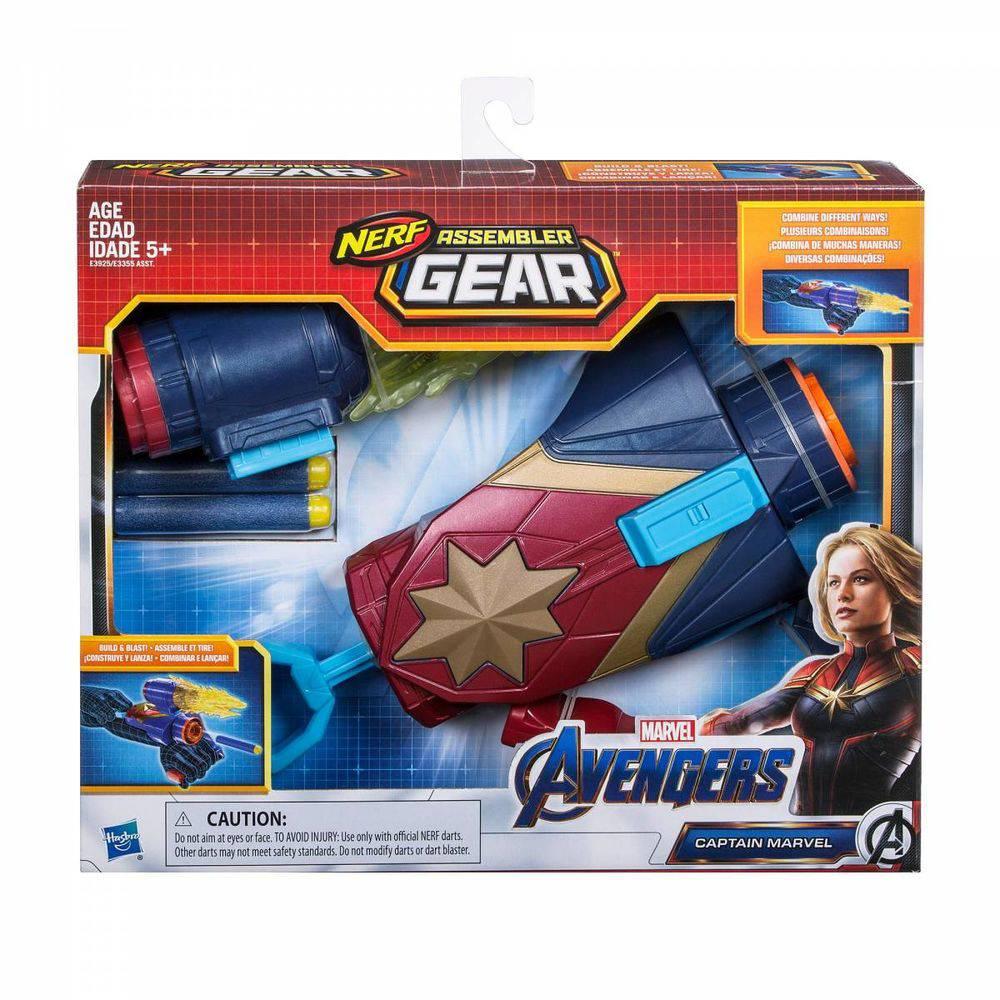 Lançador Nerf Capitã Marvel Vingadores 4 Ultimato E3925 - Hasbro